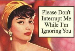 PleaseDon'tInterruptWhileIgnoring